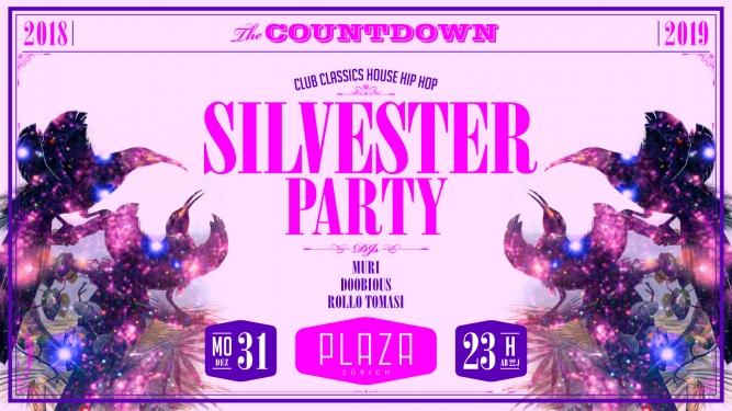 Silvesterparty 2018 / 2019 Plaza Zürich Tickets