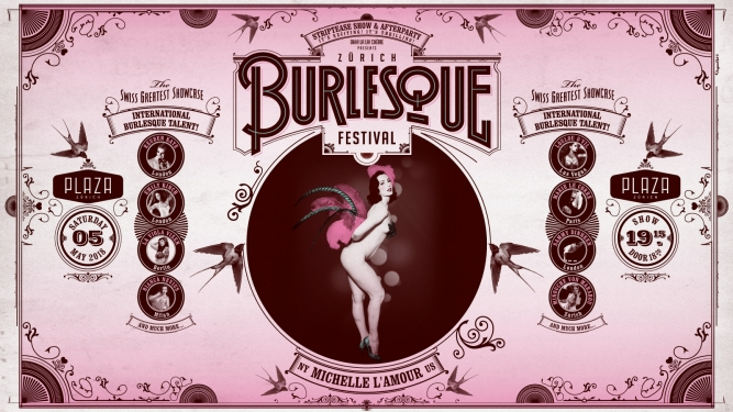 Zurich International Burlesque Festival 2018 Plaza Zürich Billets