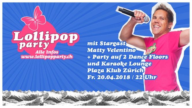 Lollipop Plaza Zürich Tickets