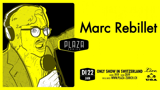 Marc Rebillet (USA) Plaza Zürich Tickets