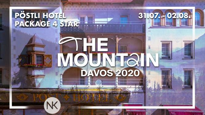 Hotel Package Pöstli Hotel 4 Star (2 Personen) Morosani Posthotel Davos Platz Tickets