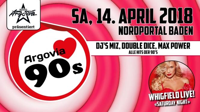 Argovia love 90's Nordportal Baden Billets