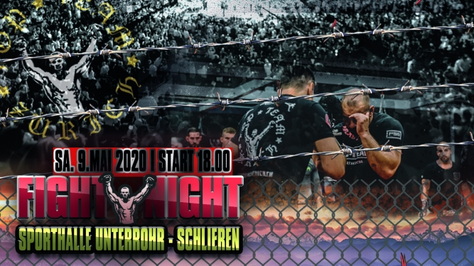 Top Team Zürich Fight Night Sporthalle Unterrohr Schlieren Biglietti