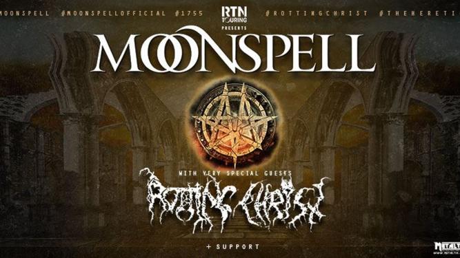 Moonspell & Rotting Christ Post Tenebras Rock - L'Usine Genève Billets