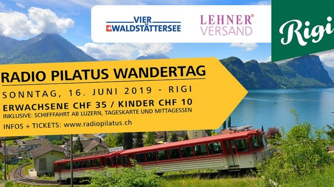 Radio Pilatus Wandertag Rigi Luzern Tickets
