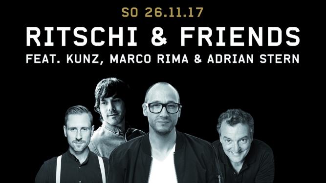 Ritschi & Friends Kongresshaus Biel Tickets
