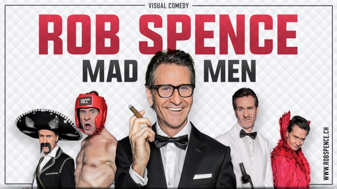 Rob Spence - Mad Men Kurtheater Baden Billets
