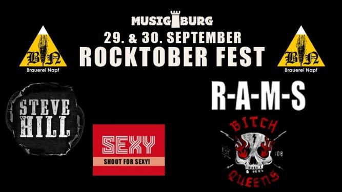 Rocktoberfest Musigburg Aarburg Tickets