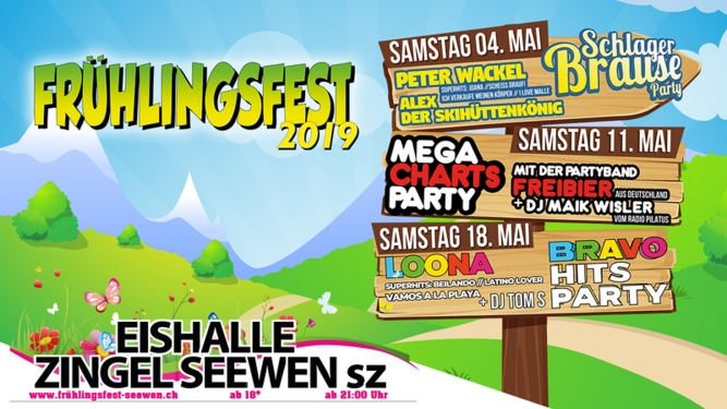 Frühlingsfest Seewen Eishalle Zingel Seewen SZ Biglietti
