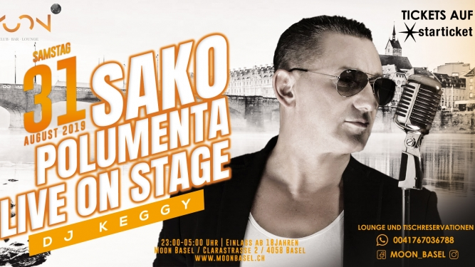 Sako Polumenta Moon Club Basel Tickets