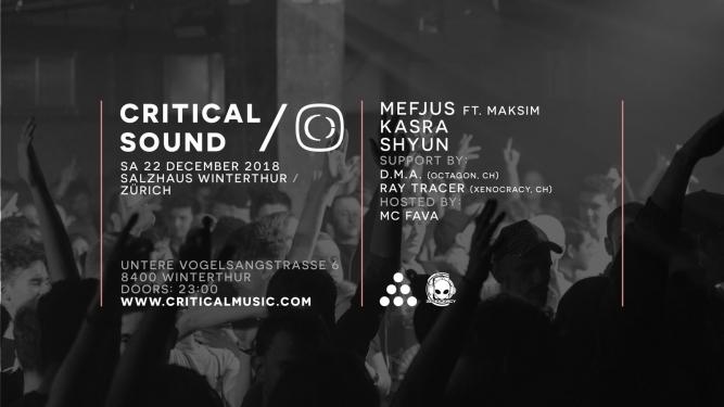 Critical Sound Salzhaus Winterthur Tickets