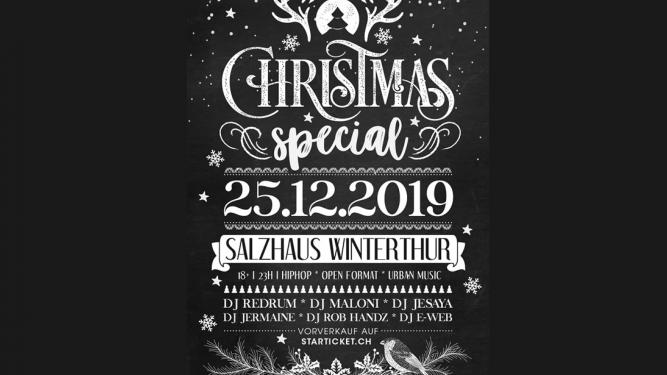 XMAS HipHop Special 2019 Salzhaus Winterthur Tickets