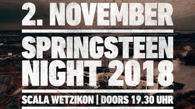 Springsteen Night Scala Wetzikon Tickets