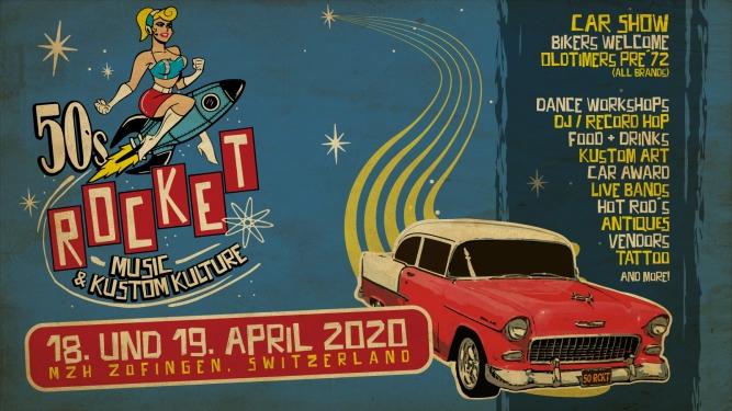 50's Rocket - Market & Car Show Mehrzweckhalle Zofingen Biglietti