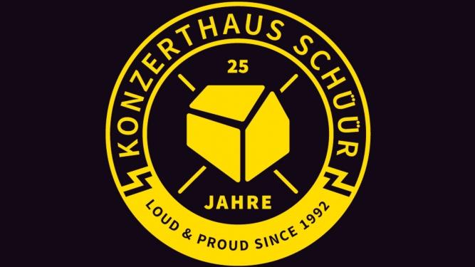 25 Jahre Konzerthaus Schüür Konzerthaus Schüür Luzern Tickets