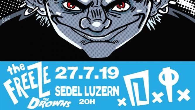 D.I. / The Freeze / The Drowns Sedel Emmenbrücke Tickets