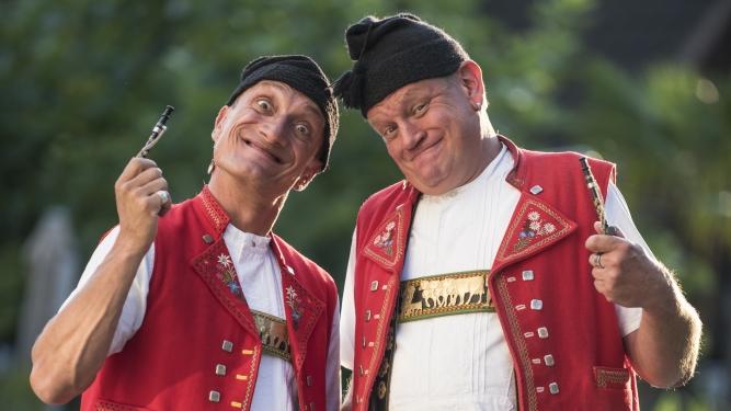 Comedy-Duo Messer & Gabel Restaurant Kegelsporthalle Allmend Luzern Tickets