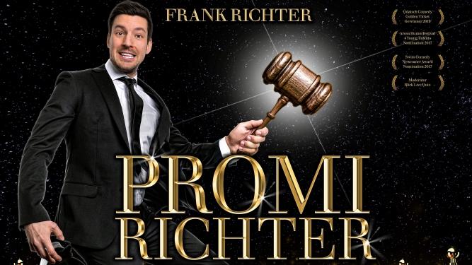"""Frank Richter mit """" Promi-Richter """" Kulturzentrum Braui Hochdorf Tickets"""