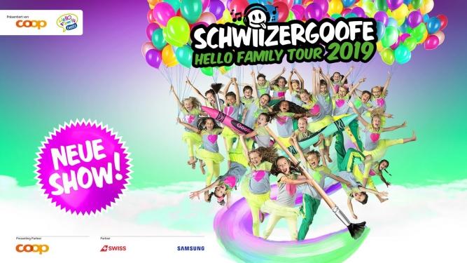 Schwiizergoofe - Hello Family Tour 2019 DAS ZELT Bern Biglietti
