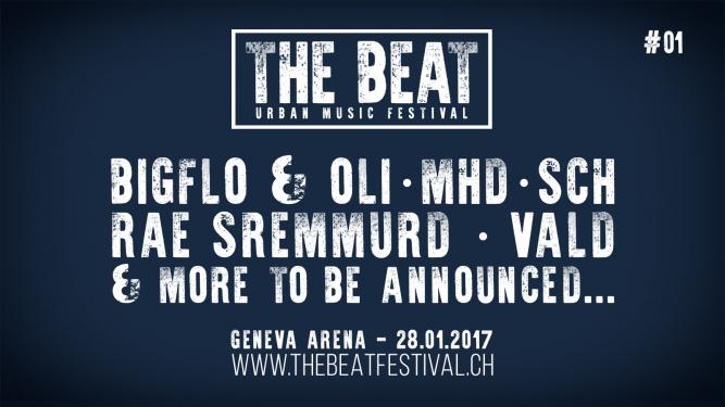 The Beat #01 - Urban Music Festival Arena Genève Billets