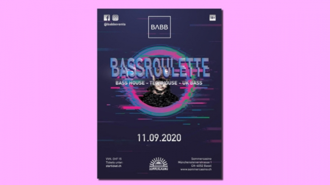 Bassroulette Sommercasino Basel Tickets