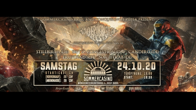 Conquering Basilea Sommercasino Basel Tickets