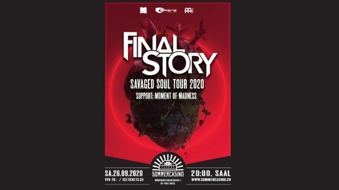 Final Story  & Moment of Madness Sommercasino Basel Tickets
