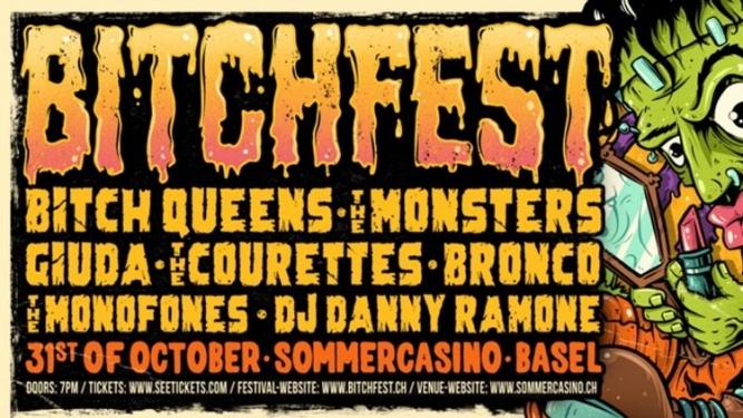 Bitch Fest IV Sommercasino Basel Tickets