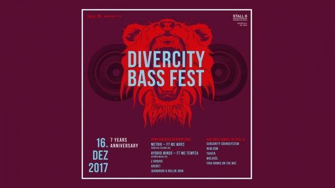 Divercity Bass Fest Stall 6 & Nordflügel Zürich Biglietti