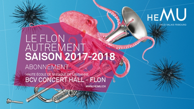 "Abonnement ""Le Flon autrement"" 2017-2018 BCV Concert Hall Lausanne Tickets"