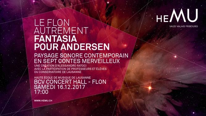 Le Flon autrement: Fantasia pour Andersen BCV Concert Hall Lausanne Tickets