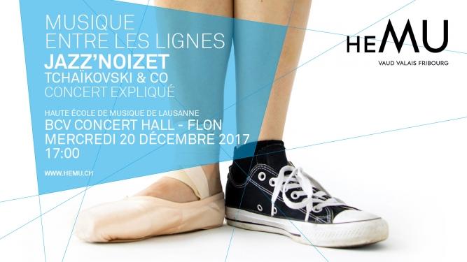 Jazz'Noizet - Tchaikovski & Co BCV Concert Hall Lausanne Billets