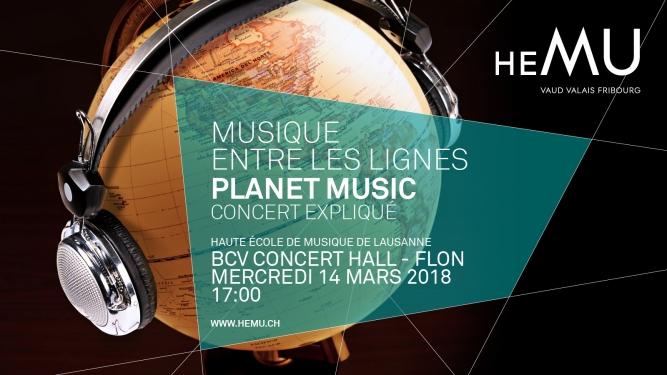 Planet Music BCV Concert Hall Lausanne Biglietti