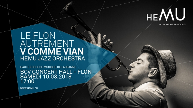 V comme Vian BCV Concert Hall Lausanne Tickets