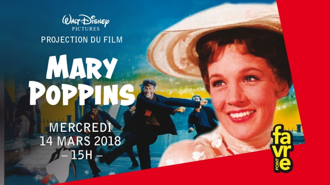 Mary Poppins Salle Point favre Chêne-Bourg Billets