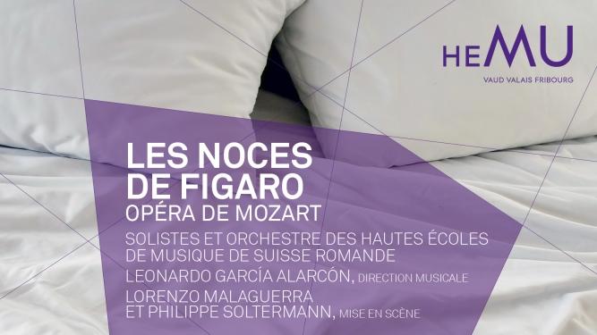 Les noces de Figaro, opéra de Mozart BCV Concert Hall Lausanne Billets