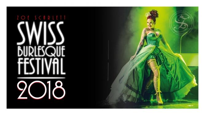 Swiss Burlesque Festival 2018 Häbse-Theater Basel Billets