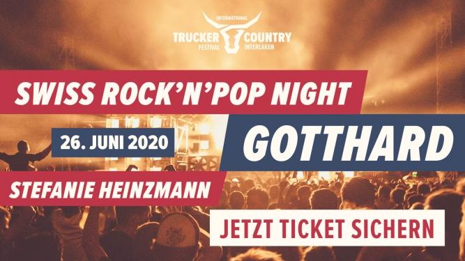 Swiss Rock'n'Pop Night Flugplatz Interlaken Billets