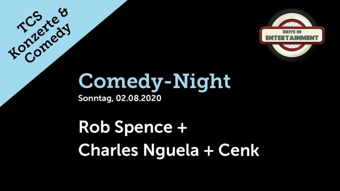 Comedy-Night: Rob Spence + Charles Nguela + Cenk TCS Zentrum Betzholz Hinwil (ZH) Tickets