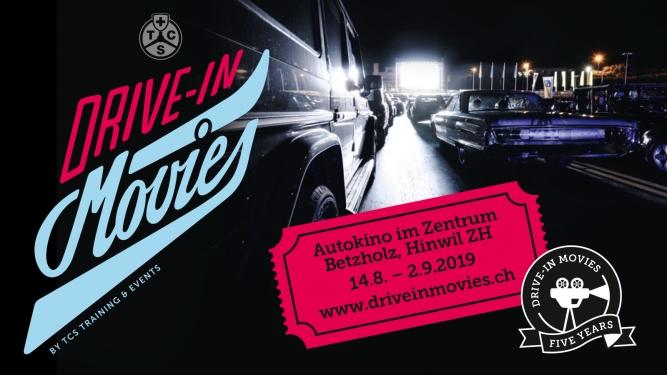 TCS Drive-In Movies: Gutschein TCS Zentrum Betzholz Hinwil (ZH) Tickets