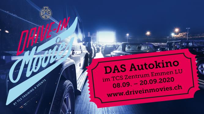 TCS Drive-In Movies Emmen TCS Zentrum Emmen Emmen (LU) Tickets