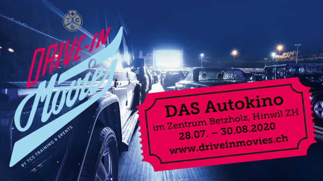 TCS Drive-In Movies Hinwil TCS Zentrum Betzholz Hinwil (ZH) Tickets