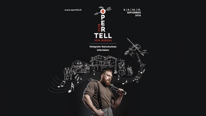 OPER TELL von Gioacchino Rossini Tell-Freilichtspiele Interlaken Matten Tickets