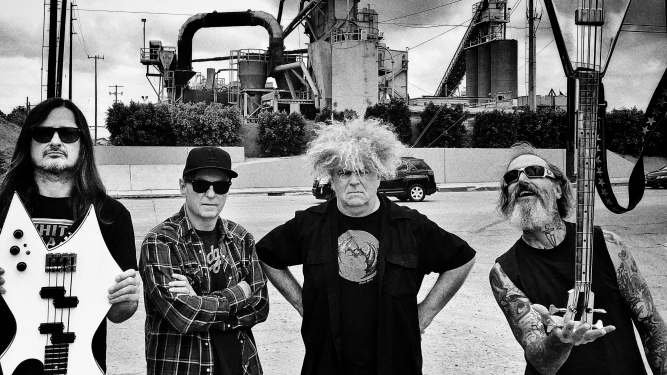 The Melvins Rote Fabrik Aktionshalle Zürich Tickets