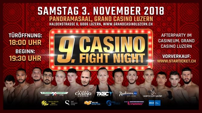 9. Casino Fight Night Grand Casino Luzern Tickets