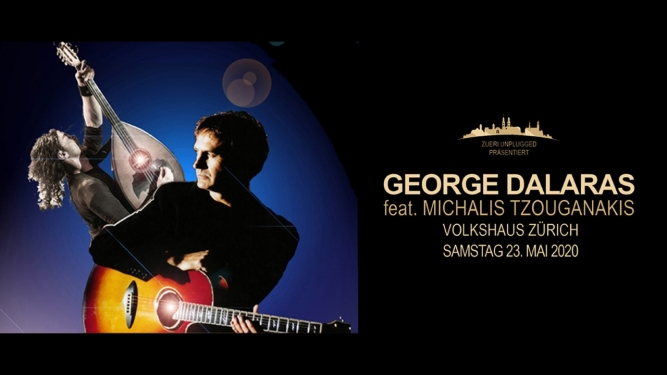 George Dalaras feat. Michalis Tzouganakis Volkshaus Zürich Billets