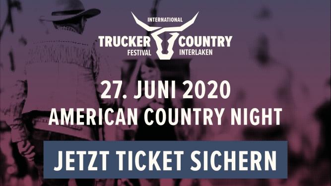 American Country Night Flugplatz Interlaken Biglietti