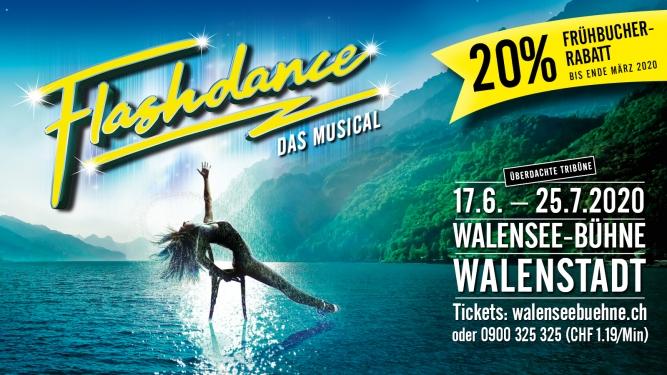 Flashdance - Das Musical Walensee - Bühne Walenstadt Tickets