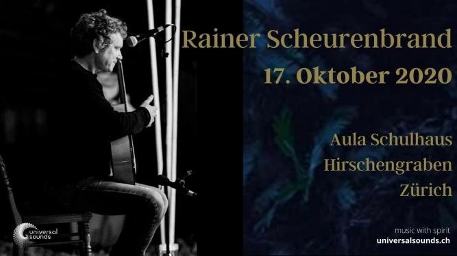 Rainer Scheurenbrand In Concert Aula Schulhaus Hirschengraben Zürich Tickets