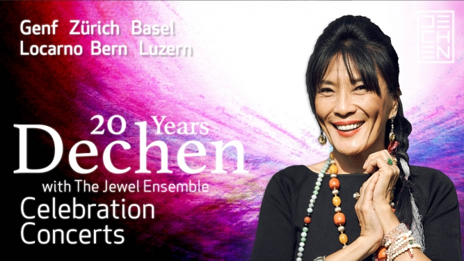 20 Years Dechen Yehudi Menuhin Forum Bern Billets